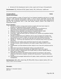 resume format for quality analyst cover letter software testing resume samples software testing brefash quality analyst qa analyst senior quality analyst