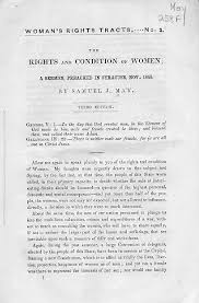 upstate new york and the womens rights movement  rbscp the rights and condition of women
