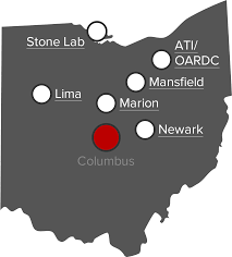 330 map of ohio state regional campuses