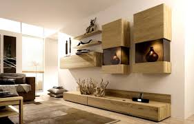 storage solutions living room:  contemporary wall hanging shelf and storage made of wood for living room storage ideas