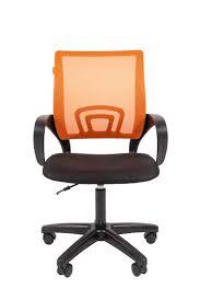 Купить <b>офисное кресло Chairman 696 LT</b> Россия TW оранжевый ...
