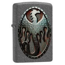 Бензиновая <b>зажигалка Zippo Metal Dragon</b> Shield Design 49072 ...