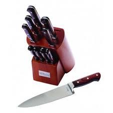<b>Набор 10 кухонных ножей</b> Ontario - купить в интернет магазине