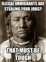 Unimpressed American Indian memes | quickmeme via Relatably.com