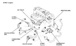 acura integra engine diagram acura wiring diagrams