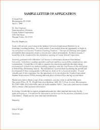 sample application job letter for a teacher budget template sample of letter of application for teacher