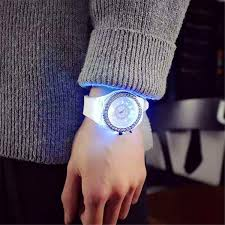 2019 <b>led Flash Luminous Watch</b> Personality trends students lovers ...