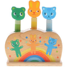 Купить развивающую <b>игрушку Djeco</b> Зверюшки-попрыгунчики ...