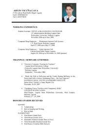 job resume image example of metaphor example of simple resume for cover letter resume examples for college students relevant job resume samples for college students resume
