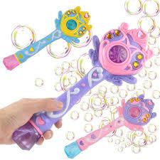 дети волшебной палочкой пузырь пистолет машина ...