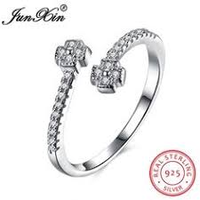 Free Stamped Name 925 Sterling Silver <b>Jewelry Rings bowknot</b> ...