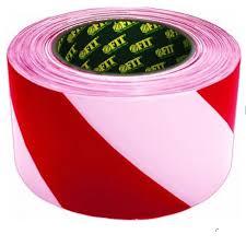 <b>Лента сигнальная Fit</b>, цвет: красно-белый, 70 мм х 200 м ...