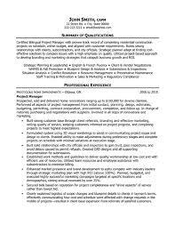 project manager resume  project manager resume  customer service    project manager resume
