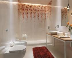 master bathroom design white painted walls elegant bathroom remodel patterned shower walls small mirror white bat