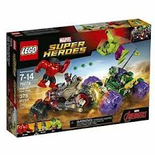 <b>LEGO 76078 Marvel Super Heroes</b> Hulk vs Red Hulk for sale online ...