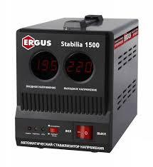 ERGUS Stabilia 1500 voltage stabilizer (1500 BA, 140-270 V, 3,9 kg ...