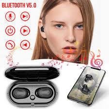 <b>Air2 TWS Wireless Binaural</b> Stereo Bluetooth Earphone IPX5 Mini ...