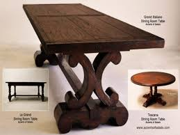 Tuscan Dining Room Accent Tables For Dining Room Tuscan Style Dining Room Tables