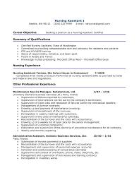 cna resume examples berathen com cna resume examples for a resume example of your resume 7