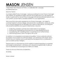 more product manager cover letter examples marketing manager cover letters