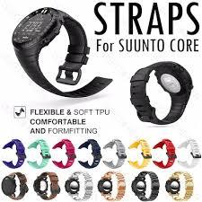 For Suunto Core Series watch strap silicone strap ... - Qoo10