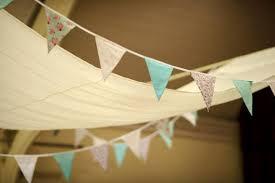 diy ceiling bunting and diy ceiling hangings drapes