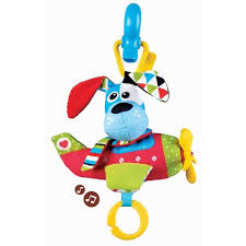 """Yookidoo <b>игрушка мягкая</b> музыкальная """"<b>Щенок</b> в самолете ..."""