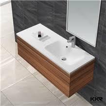 solid surface wash basins