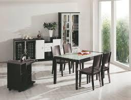 Black Formal Dining Room Set White Dining Room Set Black And White Dining Room Set Stylish