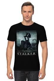 """Футболка классическая """"<b>STALKER</b>"""" #564141 от Максим - <b>Printio</b>"""