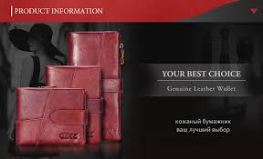 GZCZ 2019 <b>Genuine Leather</b> Women Wallet Purse Female Luxury ...