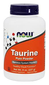 Buy Now Foods, <b>Taurine</b>, <b>Pure Powder</b>, 8 oz (227 g) Online at Low ...