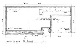 Free Country Ranch House Plans   Country Ranch House Floor PlansCountry Ranch House Foundation Plan