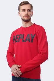 <b>Толстовка</b> мужская <b>Replay</b>, цвет: красный. M3666.000.21842_357 ...
