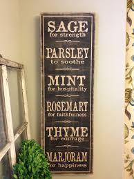 vintage decor clic: parsley sage etsy il fullxfull os parsley sage etsy