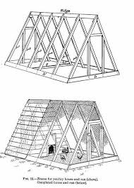Free Chicken Coop Plans for Ark and Run for Chickens   Diagrams
