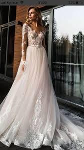 <b>2019 Elegant</b> Lace Off <b>Shoulder</b> Wedding Dress,Long Sleeves ...
