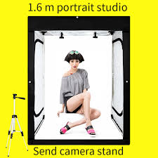 <b>120*80*160CM Photo Studio Dimmable</b> LED Light Tent Soft box ...