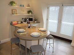 Kitchen Bar Table And Stools Awesome Round Breakfast Bar With Square Stools With Grey Seat Also