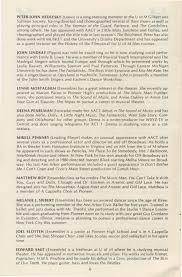 ann arbor civic theatre program pippin ann ann arbor civic theatre program pippin 27 1983