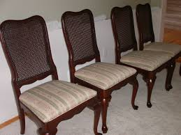 Dining Room Chair Reupholstery How To Recover Dining Room Chair Seats With Piping Room Chair