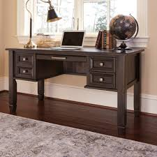 ashley furniture townser home office desk in grayish brown ashley furniture home office desk