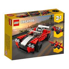 Купить <b>конструктор LEGO Creator Спортивный</b> автомобиль ...