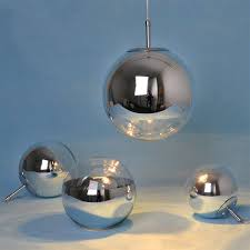 <b>Nordic Led Pendant Light</b> Creative Personality Modern Glass Ball ...
