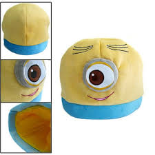 <b>Despicable</b> Me <b>Anime</b> Minion Stuart Plush Hat <b>Cute</b> Gift | kigurumi ...