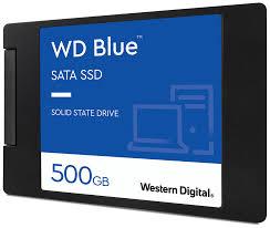 <b>Твердотельный накопитель Western Digital</b> WD Blue SATA 500 ...