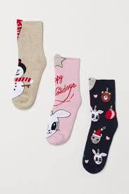 3-pack terry <b>socks</b> - Gold-coloured/<b>Snowman</b> - <b>Kids</b> | H&M