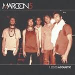 1.22.03.Acoustic album by Maroon 5