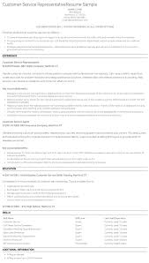 best customer service resume examples  3 customer service resume example