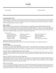 Entry Level Resume Example Pinterest